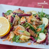 Salata de spanac, portocale si quinoa / Spinach, orange & quinoa salad
