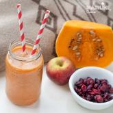 Suc de dovleac, mar si merisoare / Pumpkin, apple & cranberry juice