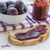Gem de prune cu vanilie si nuci / Walnut vanilla plum jam