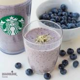 Smoothie cu afine si super alimente / Blueberry super food smoothie