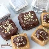Batoane proteice cu migdale si canepa / Protein almond hemp bars