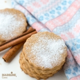 Fursecuri fragede de post / Vegan shortbread cookies