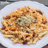 Paste cu nuca si cartof dulce / Sweet potato & walnut pasta