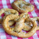 Covrigi de casa / Homemade pretzels