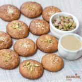 Fursecuri cu tahini / Tahini cookies