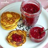 Gem de zmeura fara zahar / Sugar free raspberry jam