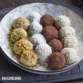 Trufe halva keto / Keto halva truffles