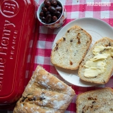 Paine cu masline si rosii uscate / Sun dried tomato olive bread (VIDEO)