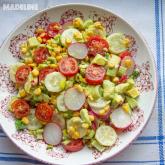 Salata de avocado si porumb / Avocado corn salad