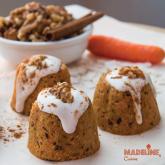 Prajiturele raw cu morcovi / Raw carrot cupcakes