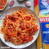 Paste italienesti cu sos de rosii / Italian pasta with tomato sauce