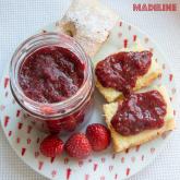 Gem de capsuni fara zahar / Sugar free strawberry jam