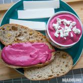 Pasta de sfecla rosie de post / Beetroot vegan dip