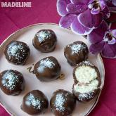 Trufe Bounty vegane / Vegan Bounty truffles