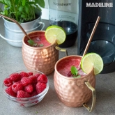 Limonada cu zmeura si ghimbir / Ginger raspberry lemonade (VIDEO)