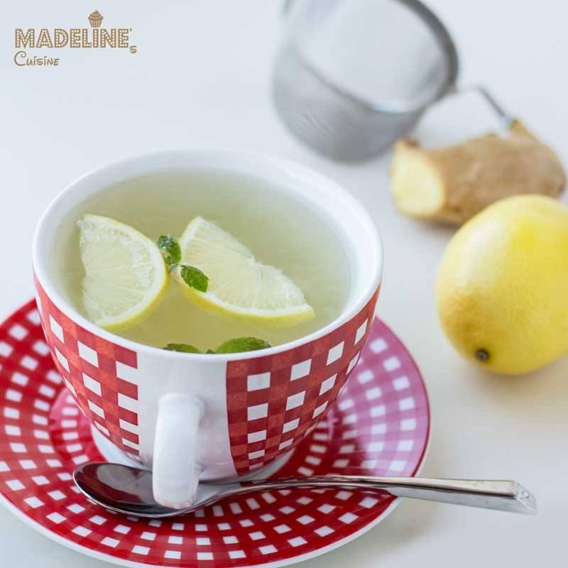 ceai de ghimbir cu lamaie si menta)