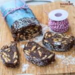 Salam de biscuiti de post / Vegan chocolate salami
