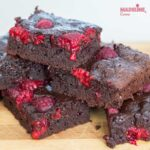 Negresa cu zmeura / Raspberry brownie