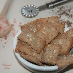 Saratele dietetice cu chimen / Diet cumin crackers