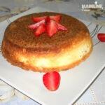 Budinca de ricotta si vanilie / Ricotta and vanilla pudding