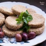 Chiftelute de peste si susan / Fish and sesame meatballs