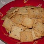 Saratele fara gluten / Gluten-free crackers