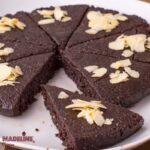 Tort raw de nuca si ciocolata / Raw walnut chocolate cake