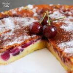 Clafoutis dietetic cu cirese / Light cherry Clafoutis