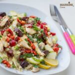 Salata de pui si quinoa / Quinoa & chicken salad
