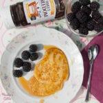 Clatite cu malai / Cornmeal pancakes