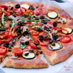 Pizza vegana cu legume / Vegan vegetable pizza