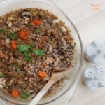Pilaf de hrisca / Buckwheat risotto