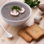 Supa crema de ciuperci / Cream of mushroom soup