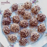 Bomboane cu quinoa si caramel / Quinoa caramel balls