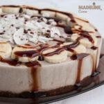 Tort raw cu banane si cocos / Raw banana coconut cake