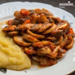 Tocanita de ciuperci / Mushroom stew