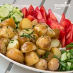 Cartofi noi la cuptor / Roasted new potatoes