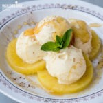 Inghetata de ananas / Pineapple ice cream