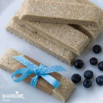 Batoane raw cu susan / Raw sesame bars