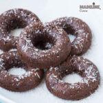 Gogosi dietetice cu ciocolata / Diet chocolate donuts