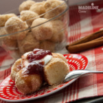 Papanasi fierti / Boiled cheese dumplings