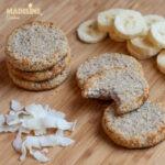 Fursecuri cu banane si cocos / Banana & coconut cookies