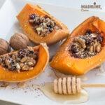 Dovleac copt cu fructe si nuci / Dried fruit & nut roasted squash