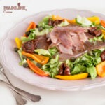Salata cu carpaccio de ton / Tuna carpaccio salad