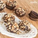 Bomboane Ferrero Rocher raw vegane / Raw vegan Ferrero Rocher truffles