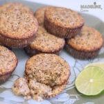 Briose cu mac si lamaie / Lemon poppy seed muffins