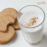 Lapte de migdale cu scortisoara / Cinnamon flavored almond milk