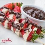 Frigarui de fructe cu Nutella / Fruit & Nutella skewers