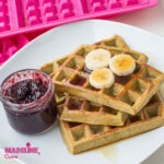 Gaufre simple cu banane / Simple banana waffles