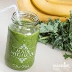 Smoothie de kale si banane / Kale & banana smoothie